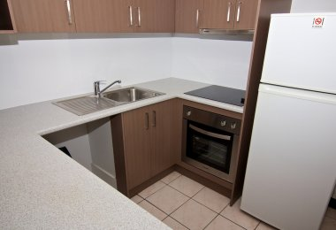 1 Bedroom Apartment - Kitchen