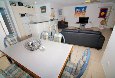 2 Bedroom Apartment - Kitchen/Dining/Living